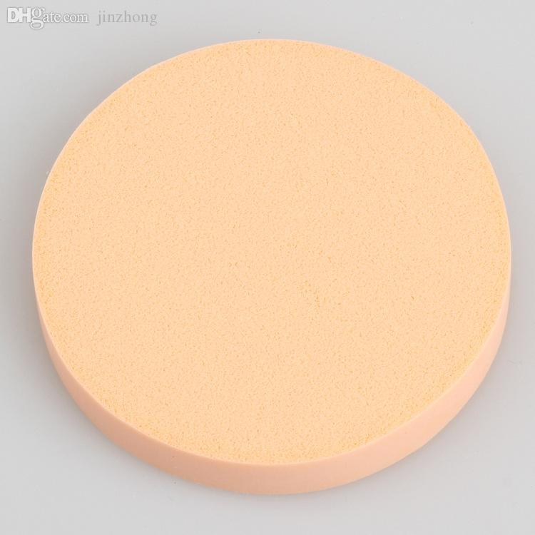 Wholesale- Puff Sponge-3 Pcs Extra circular Large Round Body Facial  Cosmetic Loose  Puff Super Soft Sponge - 9cm