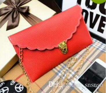 Women Handbags Long Chain Handbags Simulation Leather Shoulder Bag