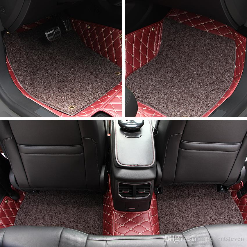 2019 Car Floor Mats Car Special Floor Mat Black Beige Wine Red Brown
