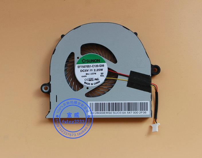 Yeni Orijinal Sunon EF75070S1-C120-G99 DC5V 2.25 W Dizüstü soğutma fanı