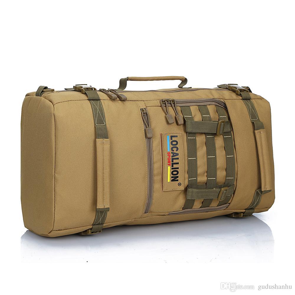 2016 Горячий Военный Тактический рюкзак Открытый Спорт Rucksack Поход Кемпинг Мужчины Путешествия Сумки Камуфляж Ноутбук Рюкзак Локальный Лев 54