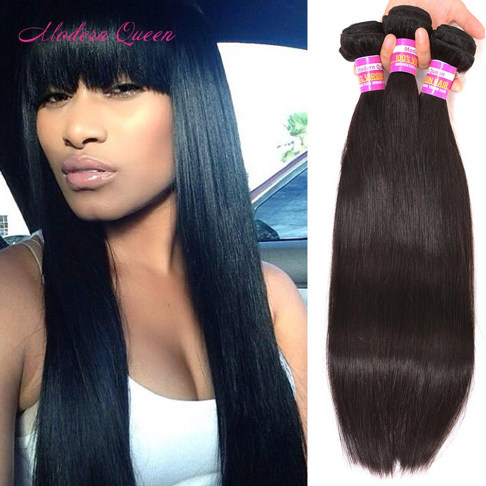 Raw Indian Silky Straight Hair Extensions Cheapest Price 3 Bundles