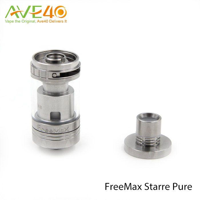 Original Freemax Starre Pure 4ml Ceramic Tank Ceramic Cover Coil Tip Airflow Control Short Ramp Time Big Airflow