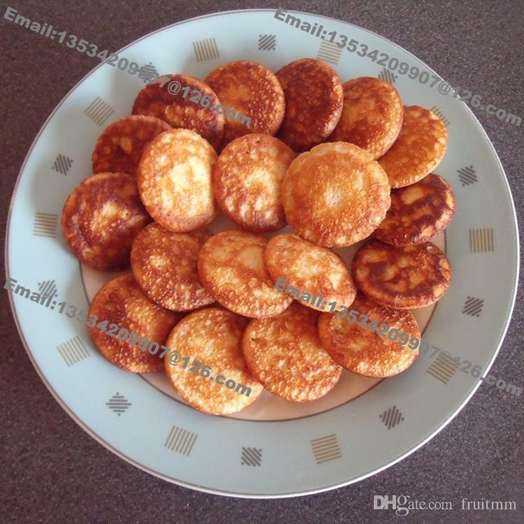 Spedizione gratuita 50 buche uso commerciale antiaderente Mini Pancake olandese Poffertjes Machine Baker Grill Maker Piastra stampo in ferro