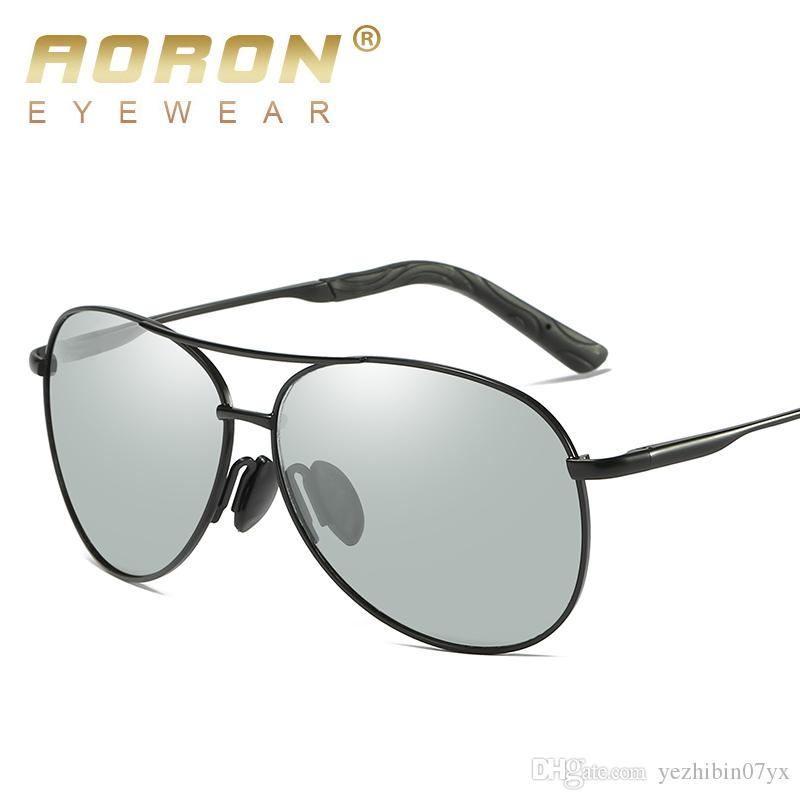 803586dc41d Brand Designer Discoloration Polarized Sunglasses For Men Women Sun Glasses  Mens Luxury Sunglass Mens Shades Mirrored Glass Black Sunglasses Cycling ...