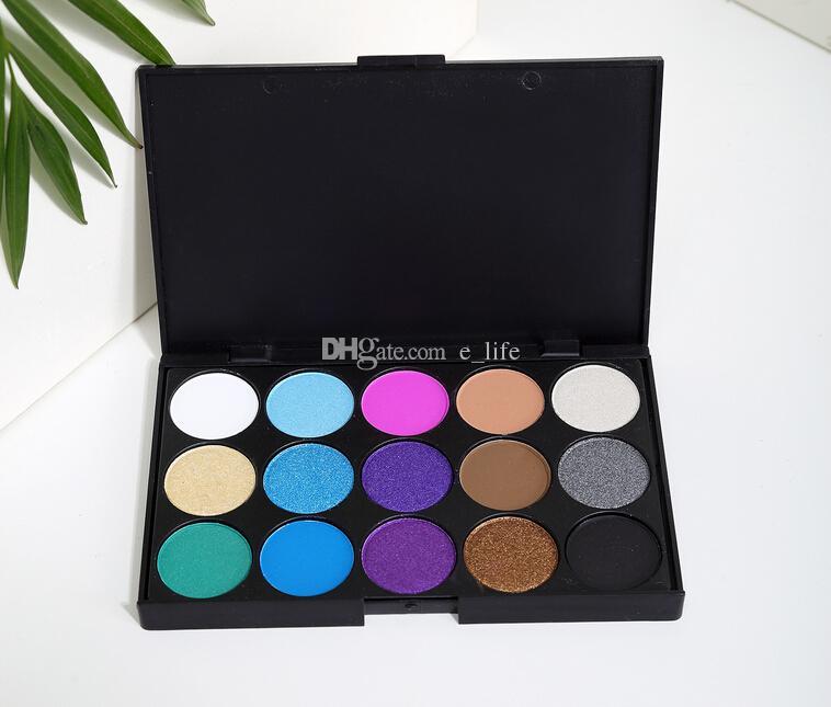 Nake Shimmer Eyeshadow Paleta de maquillaje Set Profesional Eye Shadow Foundation Maquillaje Nude Smoky Pearl Eyeshadow