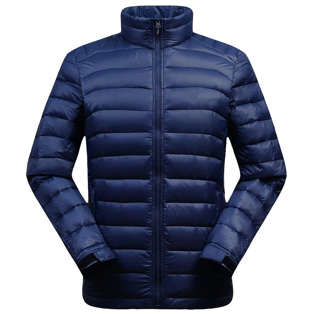 2020 2018 Winter Duck Down Jacket Ultra Light Men Classic ...