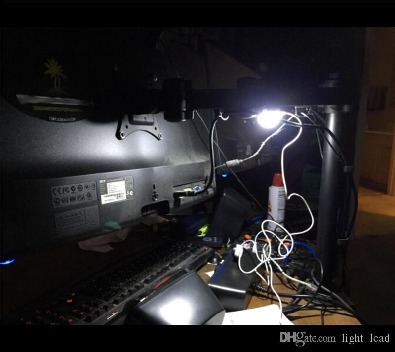 Portable Mini USB Powered LED Night Light Desk Book Reading Lamp Dormitory Light Children Bed Lamp Light