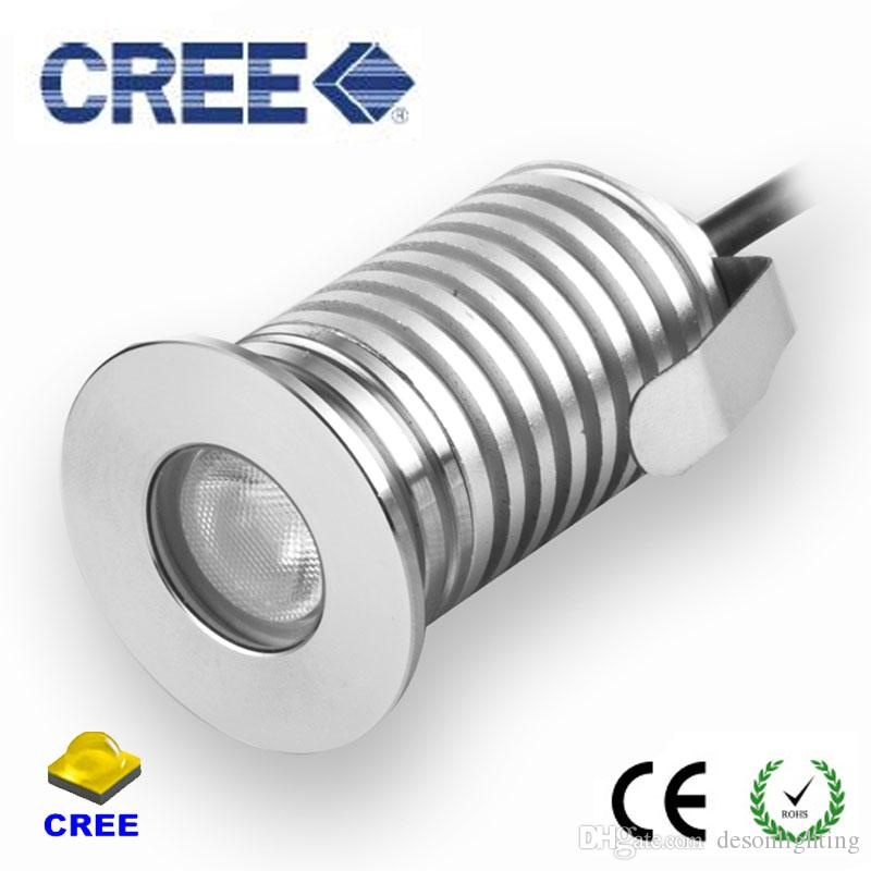 12v 24v ip67 1w 3w led recessed deck floor light outdoor waterproof