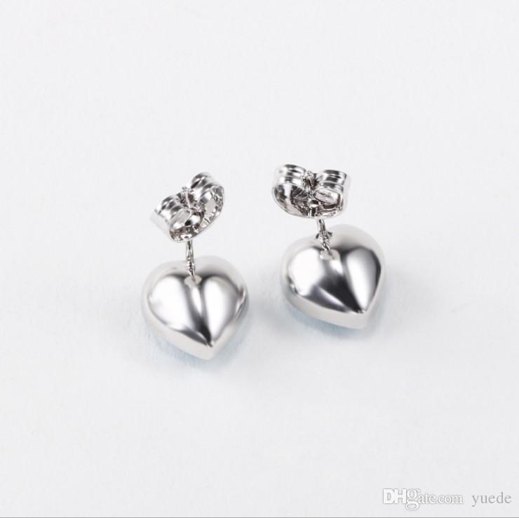 Fashion jewelry 925 silver Triangle cone Pandora earrings female crystal from Swarovski simple temperament wild