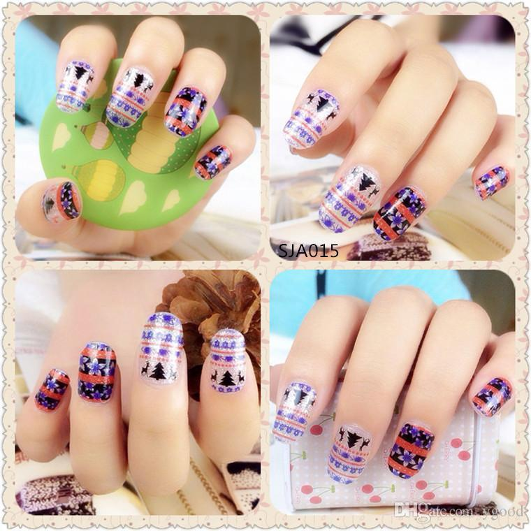 Nice 2d Nail Art New Styles Christmas Nail Art Stickers 2d Nail ...
