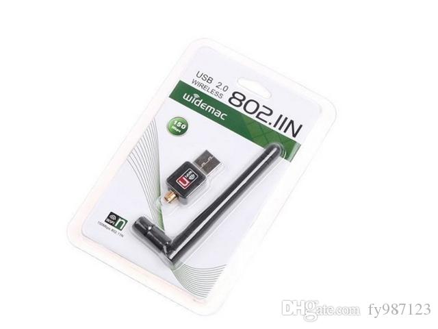 HOT selling Mini 150M 2.4GHz USB WiFi Wireless Network Networking Card LAN Adapter with Antenna 802.11 n/g/b Ralink