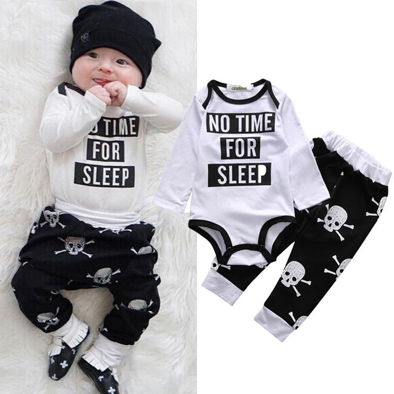 cb04ed217fe7 2019 Wholesale 2016 Newborn Infant Baby Boy Girl Clothes Fashion ...