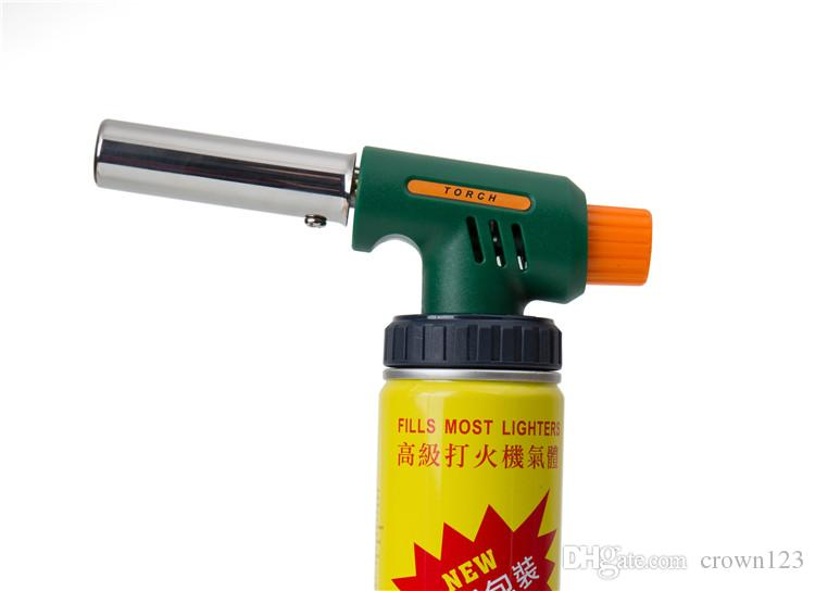 NEW Handy Flame Butane Torch head kitchen torch Chef Blowtorch Fit for variety of portable gas cylinders