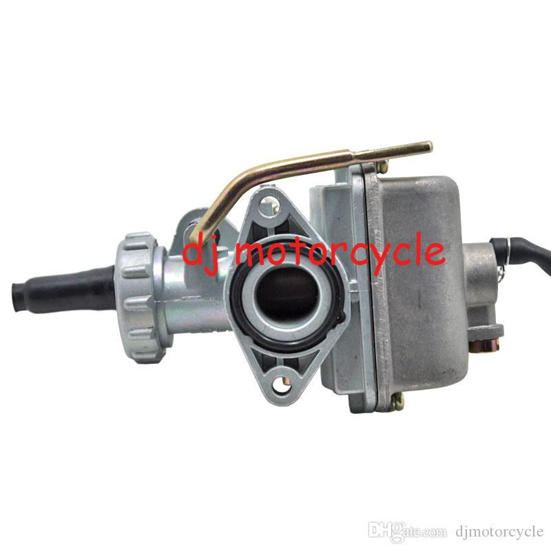 Metal Motorcycle Silver Carb Hand Choke Style Carburetor With Fuel Filter For Honda XR80 Dirt Bike.