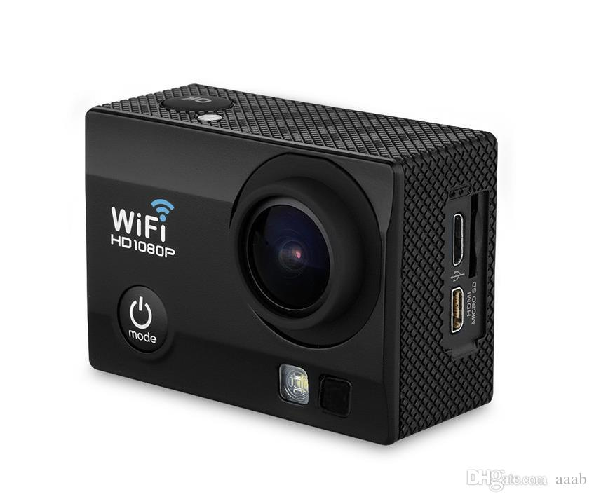 Action Camera Q3 2.0 Inch 30M Waterproof Sports Action Camera 12M 1080P Full HD Wi-Fi170 degree Anti-shake DV with Remote Control Watch