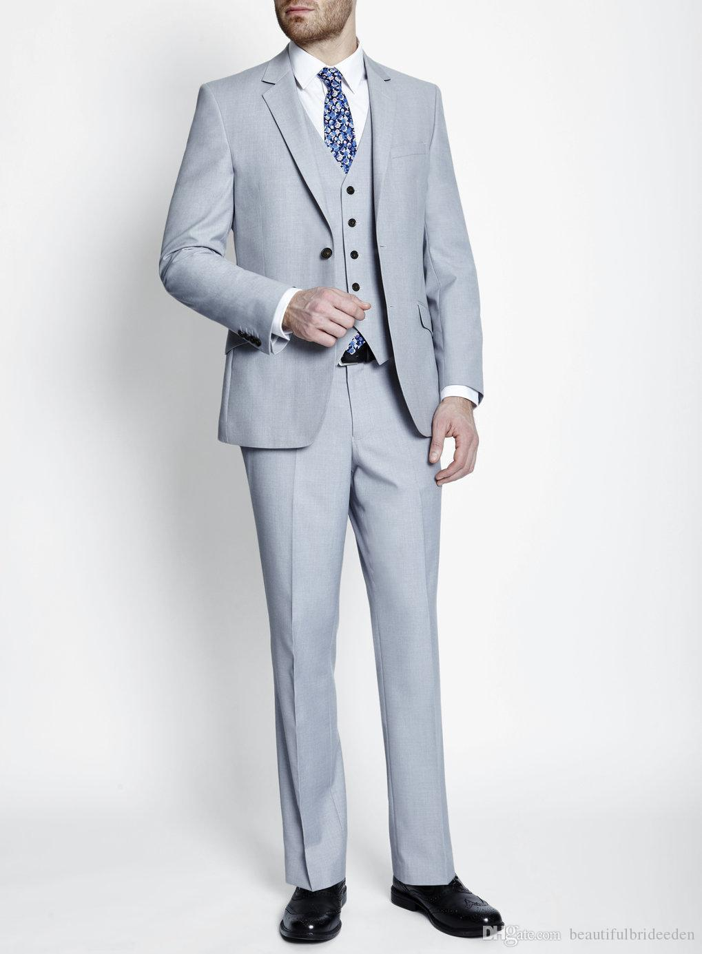 Inventive High Quality White Mens Suits Groom Tuxedos Groomsmen Wedding Party Dinner Best Man Suits W:40 Products Are Sold Without Limitations jacket+pants+bow Tie