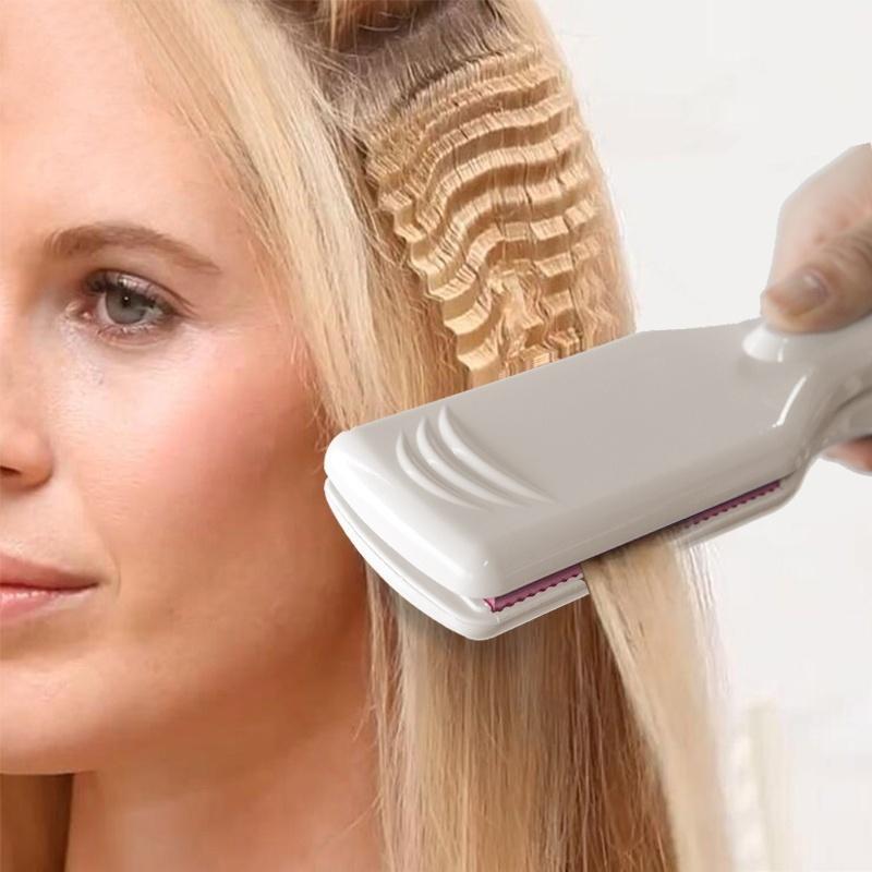 Corrugated Iron For Hair Straightener Iron Electronic Flat