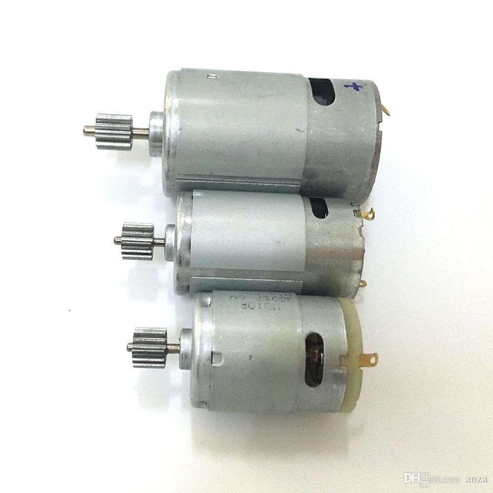 Двигатель 12V DC мотора автомобиля дистанционного управления детей электрический, электрический мотор мотоцикла 6v малыша,570 550 380 390 двигатель