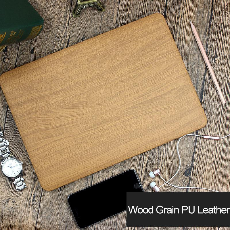 Carry360 Wood Grain PU Leather Case for Macbook Air 13 Case Cover Laptop bag for Apple Mac book Air Pro Retina 11 12 13 15 inch
