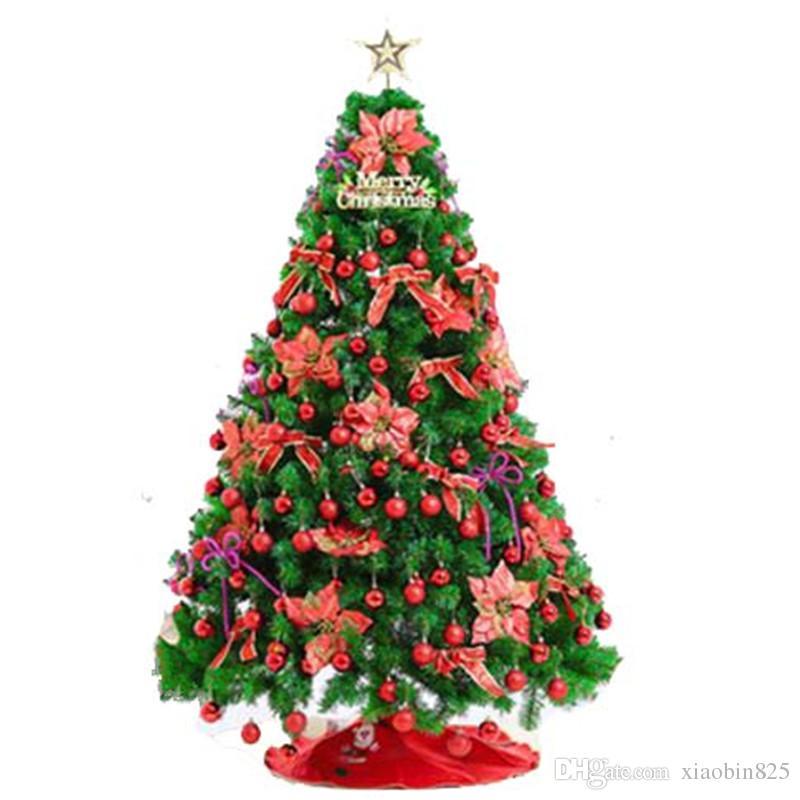 15m 18m 21m 24m decorative set christmas tree christmas decoration large luxury encryption package christmas large christmas decorations for sale - Large Christmas Tree Decorations