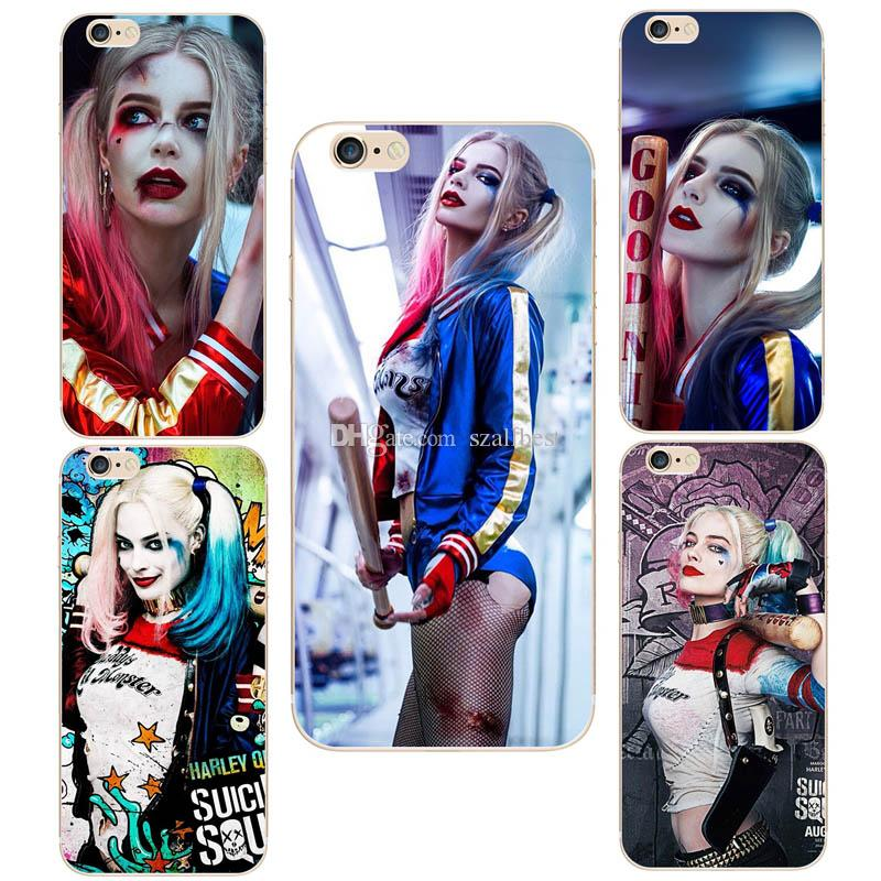 coque iphone 6 plus harley quinn