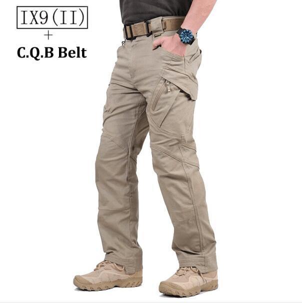 85482dd9457e8 Grosses soldes! TAD IX9 (II) Militaire Tactique Cargo Pantalon de Plein Air  Hommes Combat Randonnée Armée Formation Militaire Pantalon Chasse À L ...
