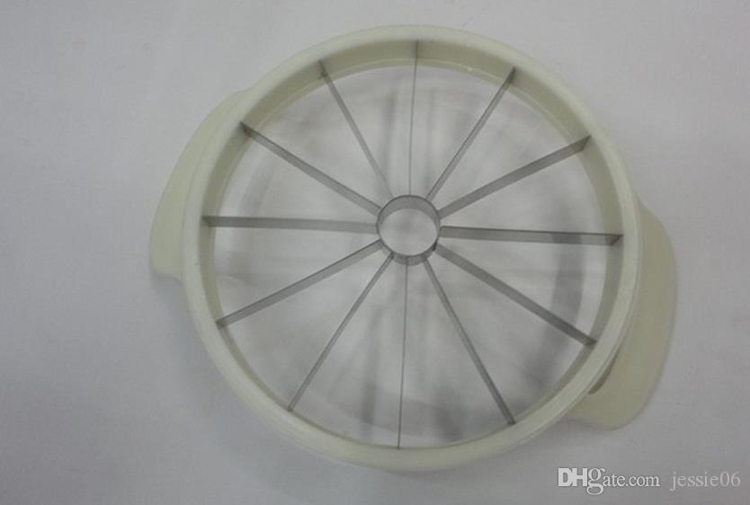 Cuchillo cortador de sandía Cantalupo Slicer Divisores de corer Divisor de fruta de acero inoxidable Cocina Barra de comedor Gadgets prácticos Gadgets