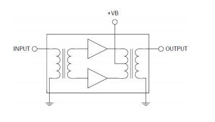 RFMD R2005300L Si Reverse Hybrid da 5 MHz a 200 MHz corrente bassa