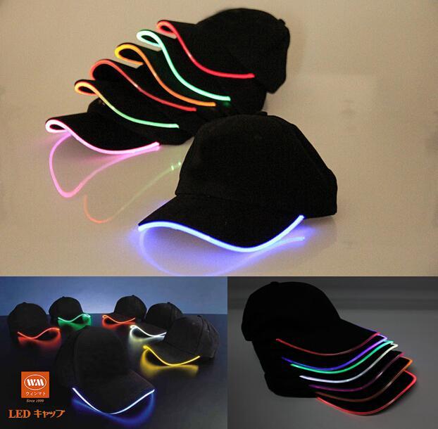 Wholesale Top Fantastic Glow LED Light Up BaseBall Hat 8c5b544300bc