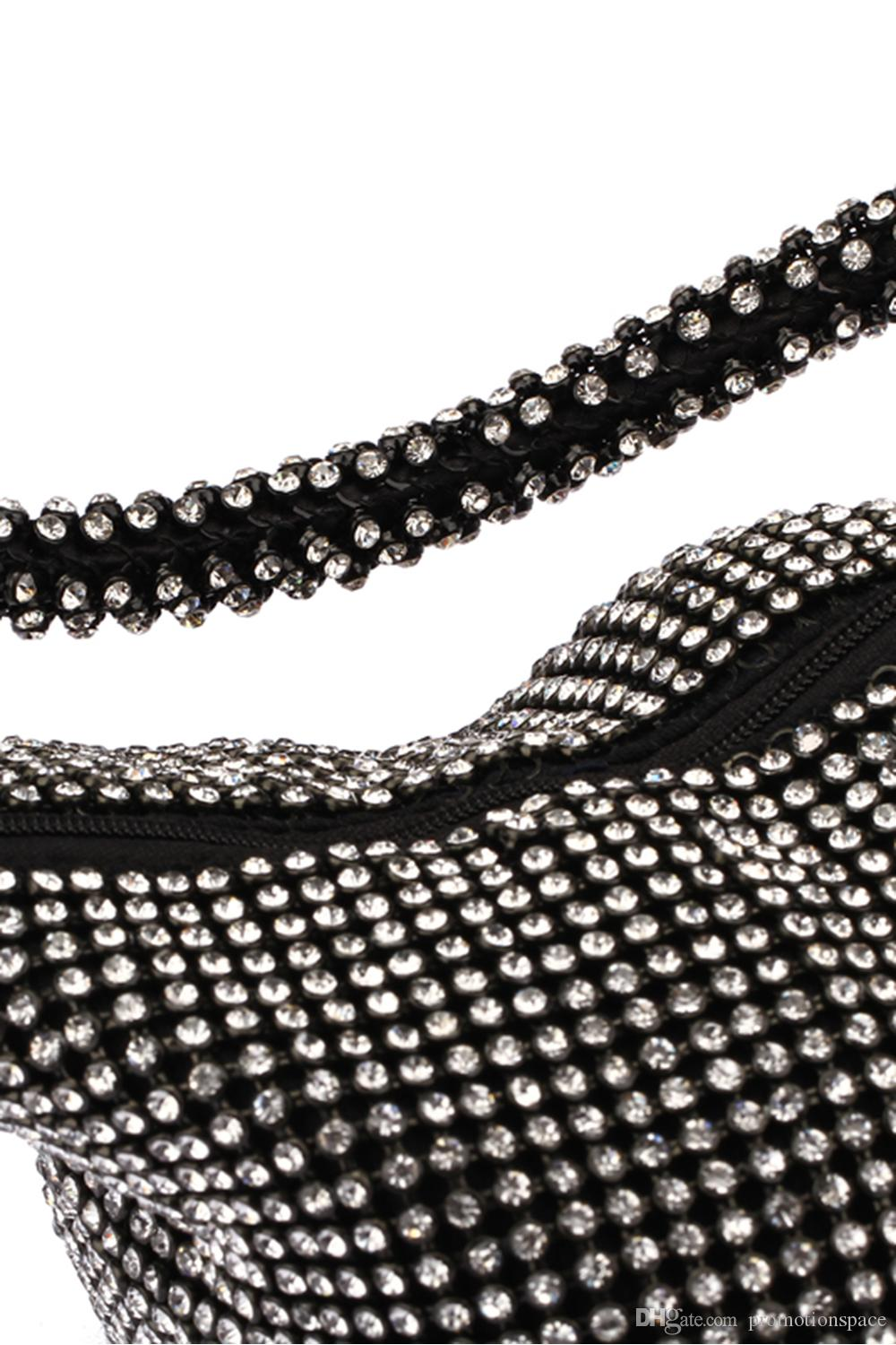 Special Design Women Bridal hand bags wedding events party diamond crystal beaded bag wallet bridal accessories CPA959