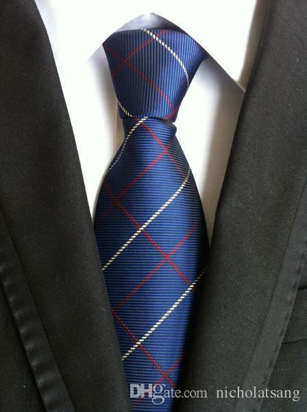 8 Estilos Hombres Rayas Clásicos de Paisley Corbata de Alta Calidad 100% Seda Multicolor Floral Corbatas para Negocios de Boda Corbata Formal Envío Gratis