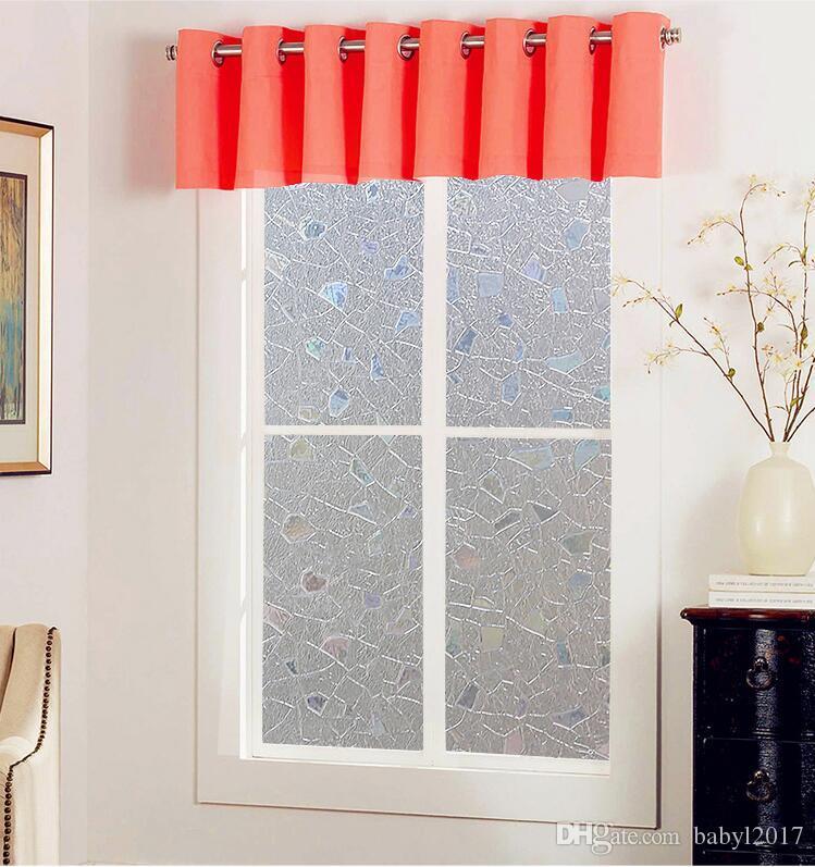 pvc waterproof window tint films premium no glue 3d static decorative privacy window glass sticker film decorative wallpaper window foil glass stickers