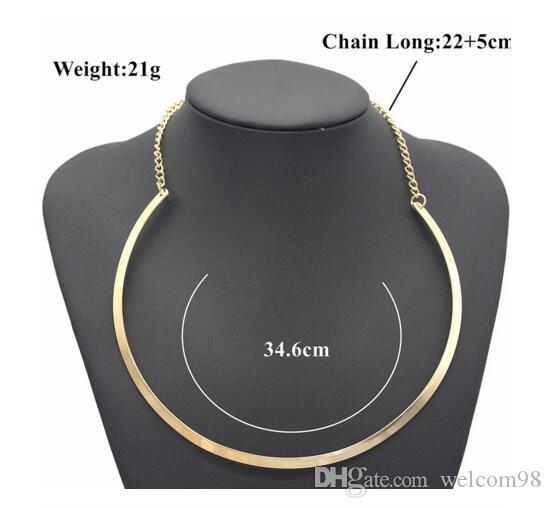 / Choker Collana Catena catena catena artigianato fai da te gioielli gioielli collane regalo W0154 *