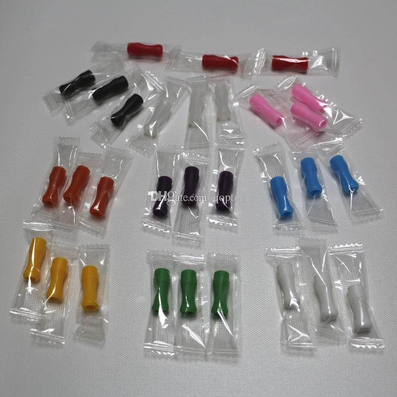 510 punta in gomma siliconica gocciolatoio vape a goccia ecologica 510 boccaglio in silicone coperture in gomma siliconica pacchetti di sigarette