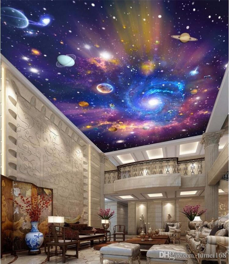 Custom 3d Ceiling Murals Wallpaper Home Decor Painting