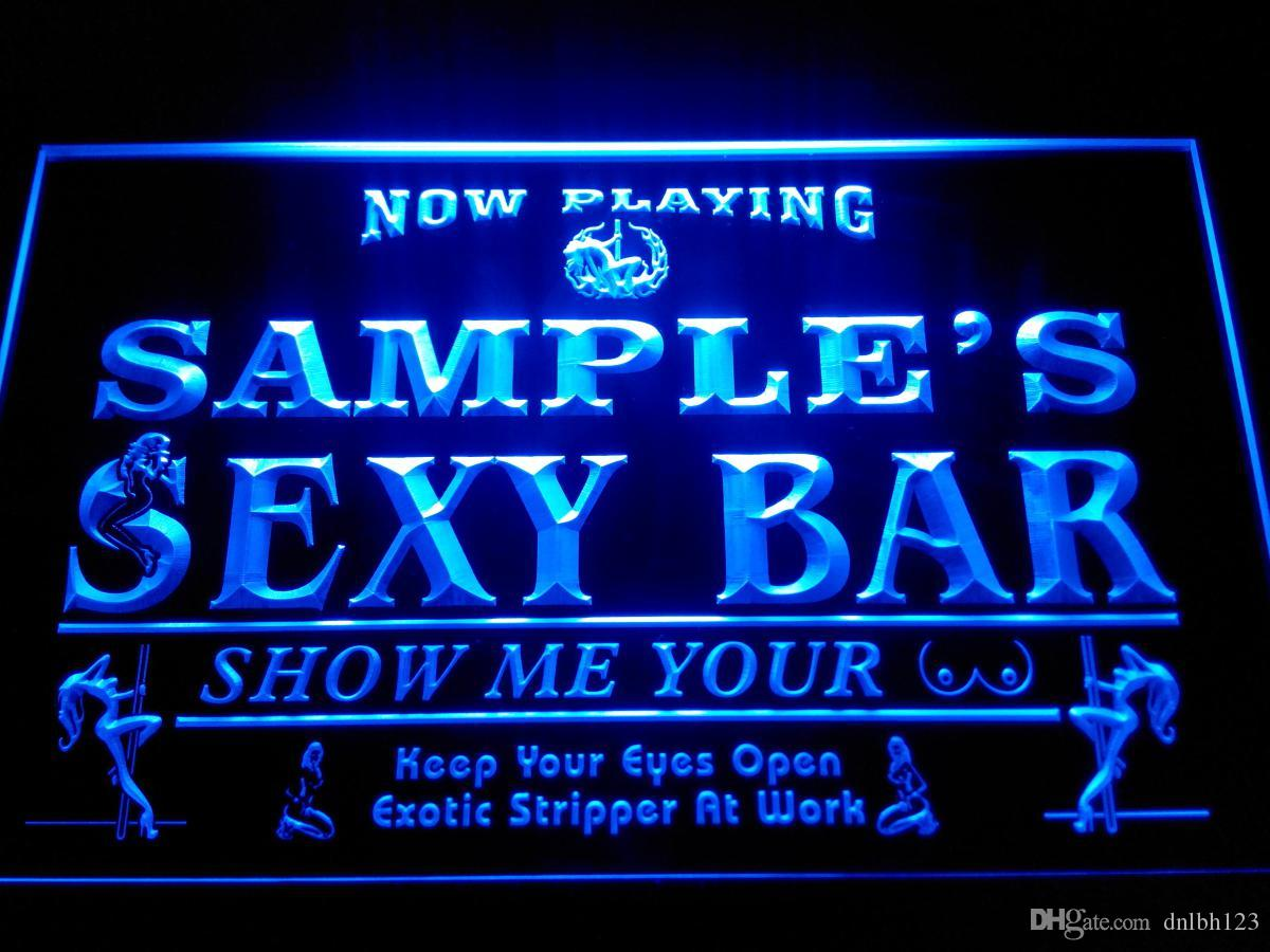 Dz041 b name personalized custom sexy bar now playing stripper bar dz041 b name personalized custom sexy bar now playing stripper bar beer neon sign bar signs open signs open business signs garage sig neon lights signs mozeypictures Gallery