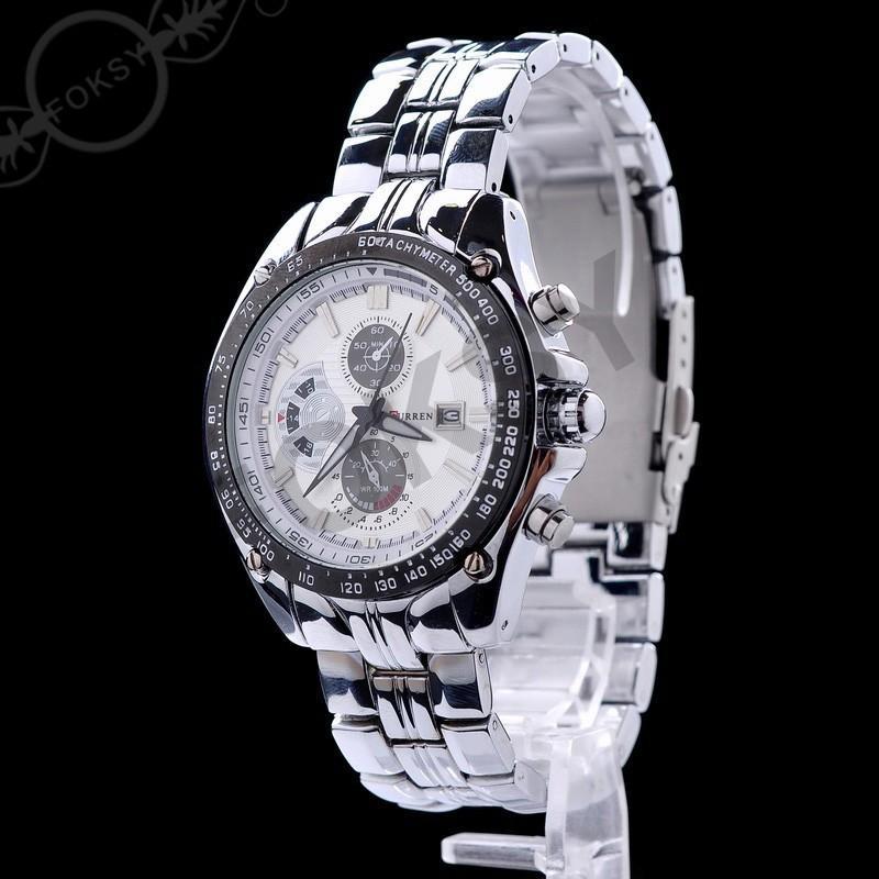 Orologio da polso da uomo analogico di lusso con orologio da uomo, orologio da polso, orologio da polso al quarzo, modello M8104, modello mix, trasporto di goccia da bbwatch