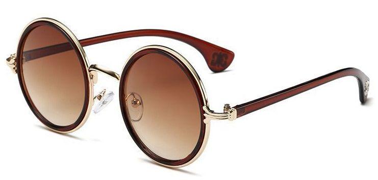 summer woman Retro sunglasses metal color film sun glasses ladies fashion Dazzle colour sunglasses driving glasses drop ship