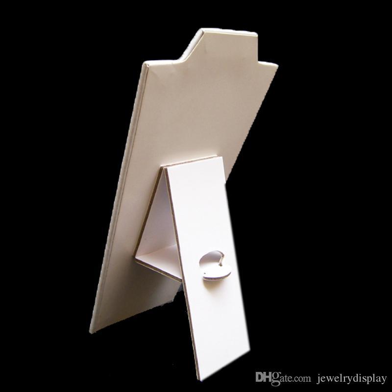 3 stks ketting display ketting staan zwart fluwelen 8 1/2