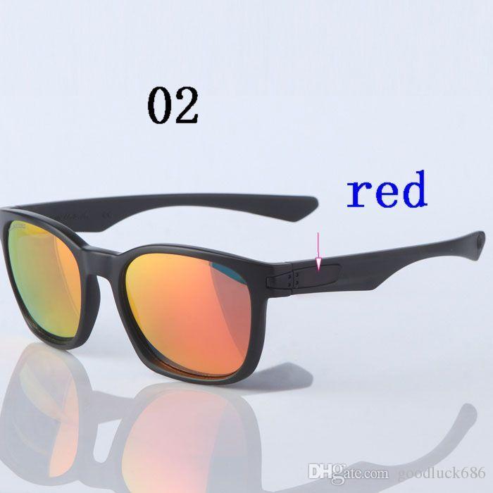 acacde9c7203 New Polarized Sport Colorful Trend Popular Retro Outdoor Shine ...