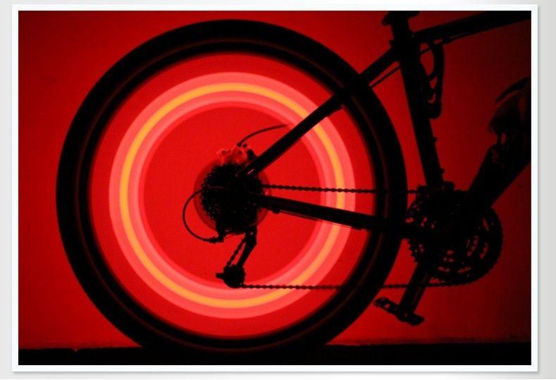 bicicleta caliente de la bicicleta de la venta que rueda la rueda del neumático del neumático de alambre del rayo que habla led la lámpara de la luz brillante