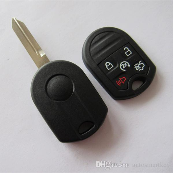 5 button Remote Key Shell Fob case for FORD Expedition Mustang F150 F250-350 Super Duty Keyless Case 5 Button key cover