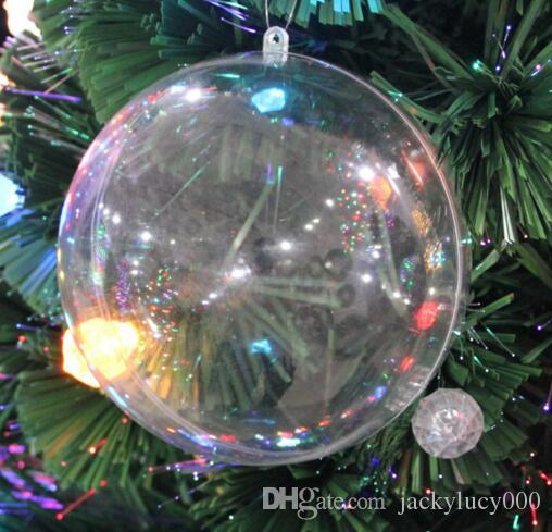 12cm transparent plastic christmas ball candy box for wedding xmas decoration supplies christmas ball online with 274piece on jackylucy000s store - Plastic Christmas Balls