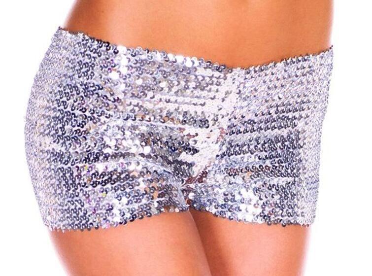 Оптовая продажа-горячие новые 2016 женщин шорты блестками блестящие шорты сексуальные женщины трусики клуб шорты Бесплатная доставка