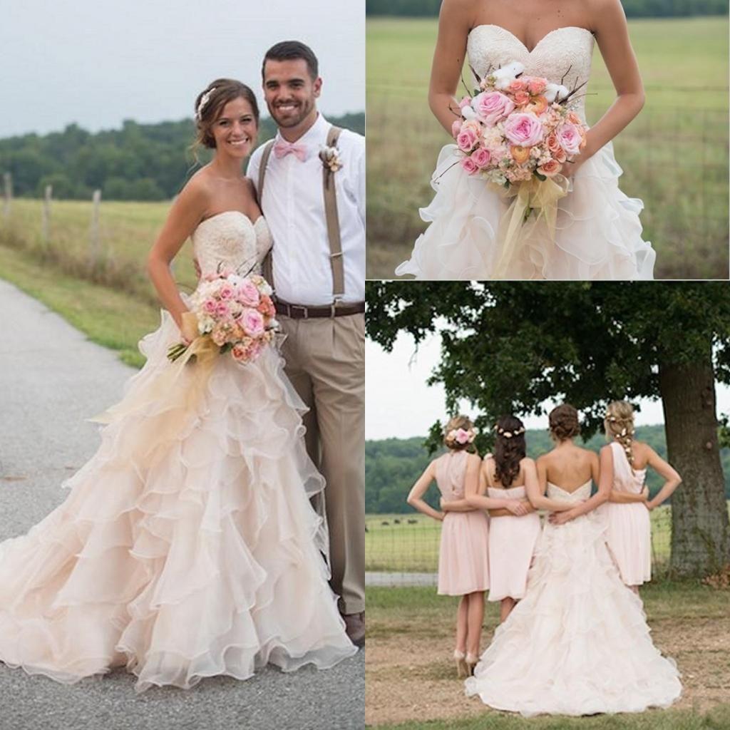 Wunderbar Rosa Camo Brautkleider Zum Verkauf Fotos - Hochzeit Kleid ...