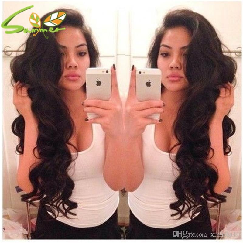 fashion hair style purple human hair wigs malaysian body wave virgin human hair full lace wigs lace front wig DHL