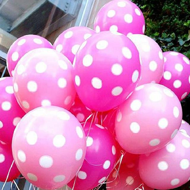 Dot Balloon Birthday Decoration Home Decor Latex Polka Balloon For