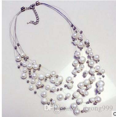 64227afe2af65 Wholesale Wonderful Crystal Natural White Pear Chains L Lady S Pendant  Necklace Ddfd Gold Chain Necklace Ruby Necklace From Jigong999
