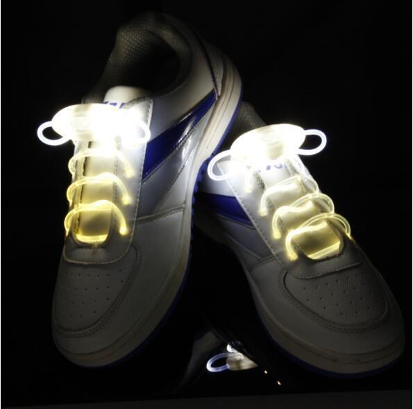 LED Shoelaces Shoe Laces Flash Light Up Glow Stick Strap Shoelaces Disco Party Skating Sports Glow Stick